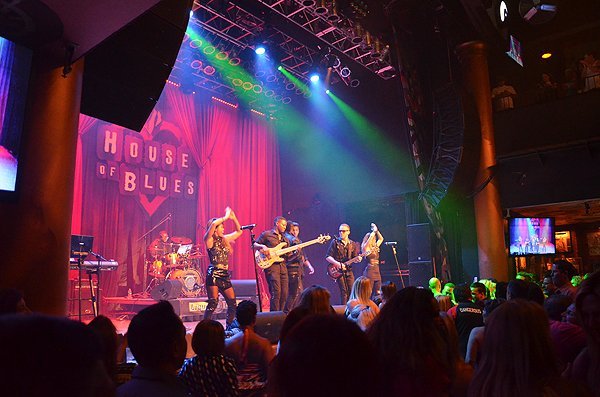 2015-08-12 Liquid Blue Band in San Diego CA at House Of Blues 118