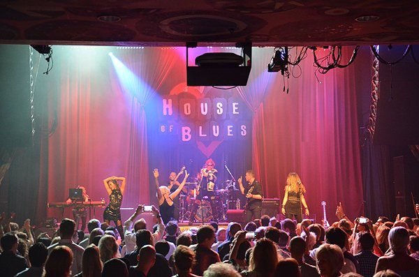 2015-08-12 Liquid Blue Band in San Diego CA at House Of Blues 186