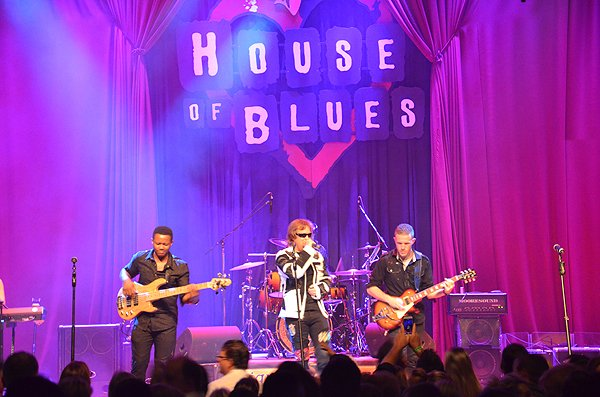 2015-08-12 Liquid Blue Band in San Diego CA at House Of Blues 200