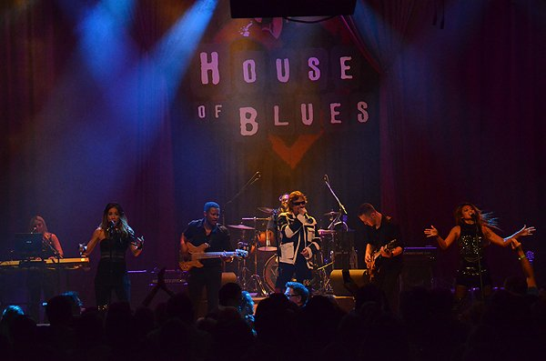 2015-08-12 Liquid Blue Band in San Diego CA at House Of Blues 214