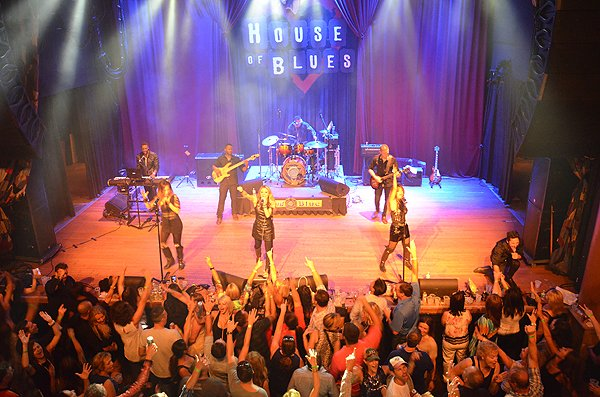 2015-08-12 Liquid Blue Band in San Diego CA at House Of Blues 600