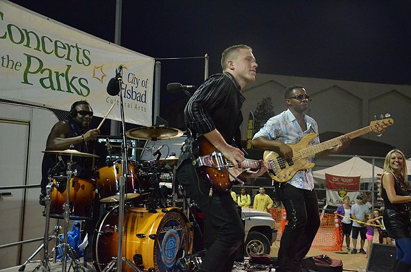 2015-08-14 Liquid Blue Band in Carlsbad CA at Calavera Hills Community Park 010