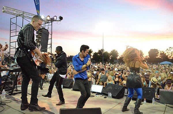 2015-08-14 Liquid Blue Band in Carlsbad CA at Calavera Hills Community Park 048