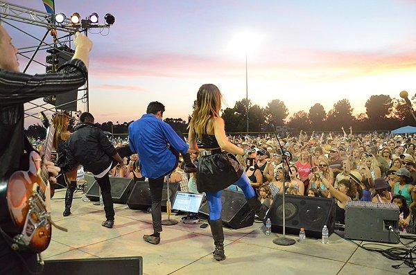 2015-08-14 Liquid Blue Band in Carlsbad CA at Calavera Hills Community Park 051