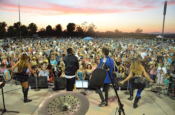 2015-08-14 Liquid Blue Band in Carlsbad CA at Calavera Hills Community Park 052