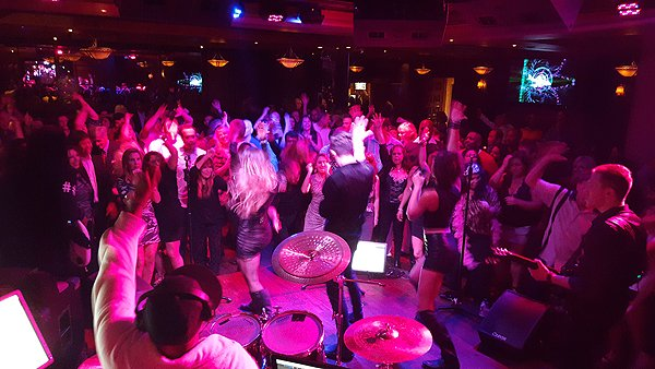 2016-01-16 Liquid Blue Band in San Diego at Club M 2