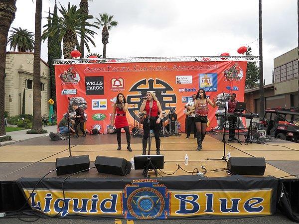 2016-01-30 Liquid Blue Band in Riverside CA at Lunar Festival 03