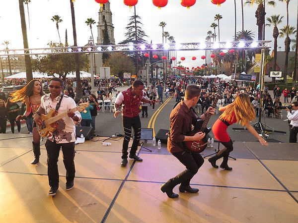 2016-01-30 Liquid Blue Band in Riverside CA at Lunar Festival 10