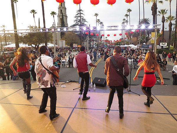 2016-01-30 Liquid Blue Band in Riverside CA at Lunar Festival 09