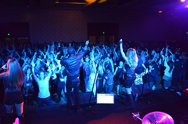 2016-02-29 Liquid Blue Band in Los Angeles CA at Marriott Hotel 187