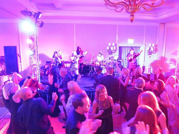 2016-03-07 Liquid Blue Band in Laguna Beach CA at Montage Hotel 10