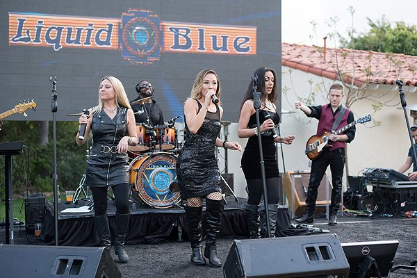 2016-03-18 Liquid Blue Band in Rancho Santa Fe CA at Inn at Rancho Santa Fe 34