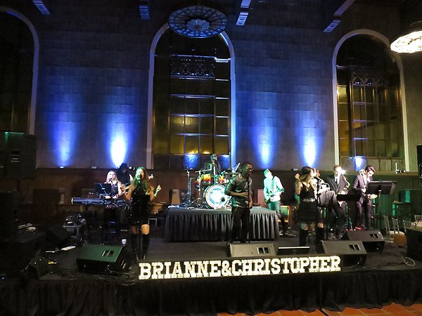 2016-03-19 Liquid Blue Band in Los Angeles CA at Union Station 3