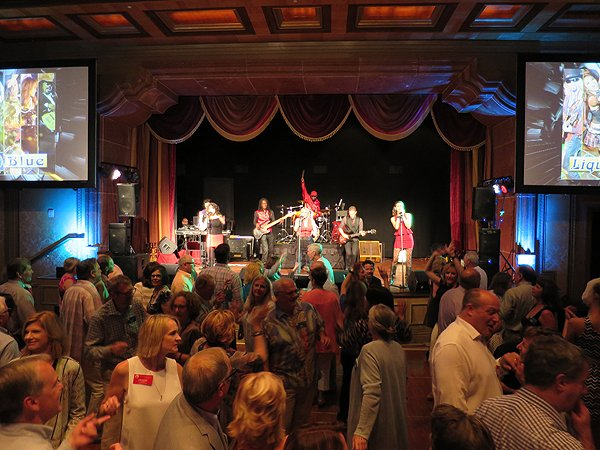 2016-04-12 Liquid Blue Band in Del Mar CA at Fairmont Grand Del Mar 1