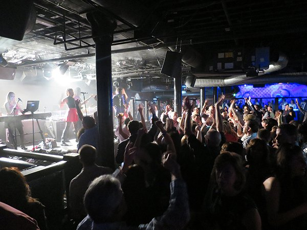 2016-04-13 Liquid Blue Band in San Diego CA at Bassmnt 144