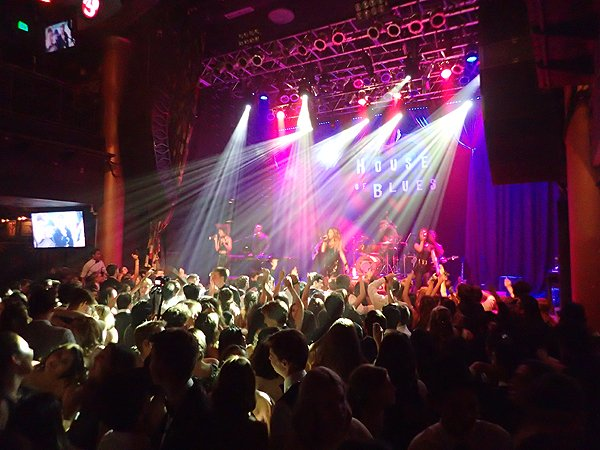2016-05-21 Liquid Blue Band in San Diego CA at House Of Blues 117