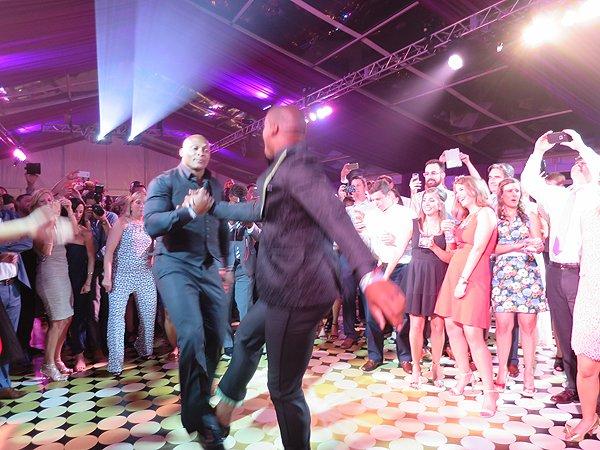 2016-06-11 Charlotte NC Cam Newton Dancing 9