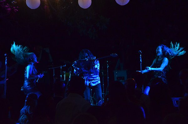 2016-07-03 Liquid Blue Band in Encinitas CA at Botanical Gardens 83