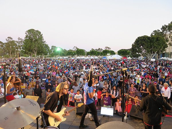 2016-07-03 Liquid Blue Band in Norwalk CA at City Hall Lawn 102