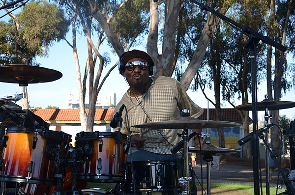 2016-07-22 Liquid Blue Band in San Diego CA at Pioneer Park 007