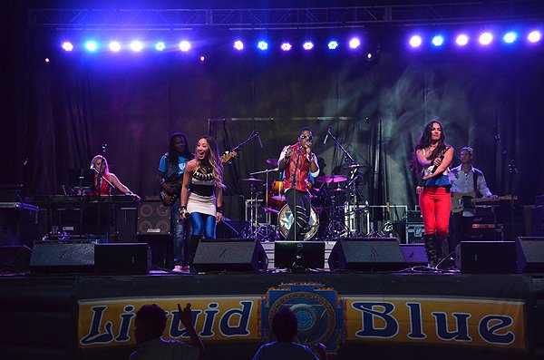 2016-07-23 Liquid Blue Band in Fort Irwin CA at Fort Irwin 112