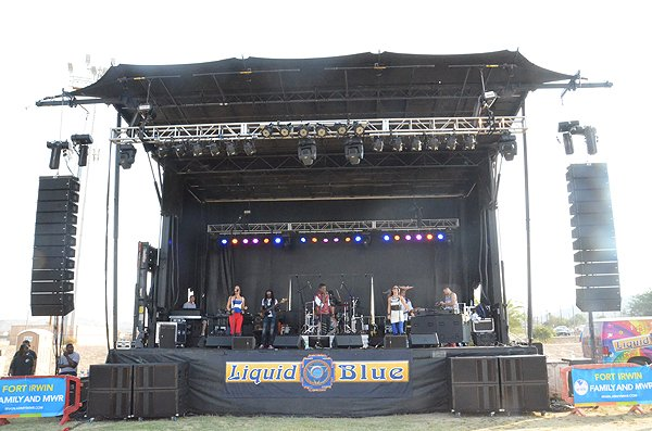 2016-07-23 Liquid Blue Band in Fort Irwin CA at Fort Irwin 02