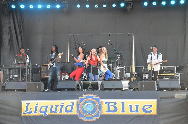 2016-07-23 Liquid Blue Band in Fort Irwin CA at Fort Irwin 020