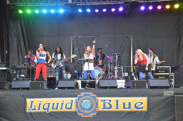 2016-07-23 Liquid Blue Band in Fort Irwin CA at Fort Irwin 052