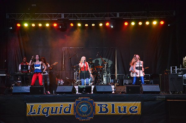 2016-07-23 Liquid Blue Band in Fort Irwin CA at Fort Irwin 064