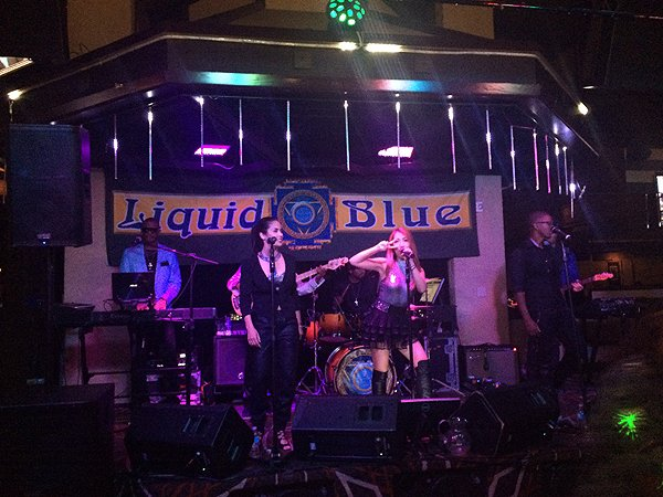 2016-08-02 Aqua Blue Band in Ontario CA at Misty's 2