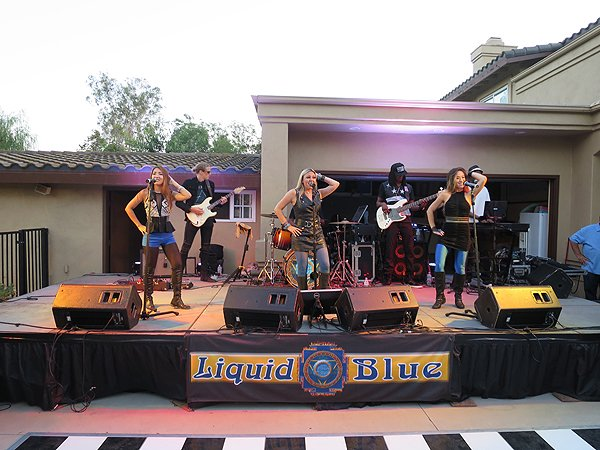 2016-08-12 Liquid Blue Band in Poway CA at Schack Residence 029