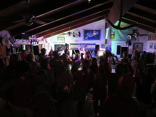 2016-08-13 Liquid Blue Band in Lake Arrowhead CA at Yacht Club 14