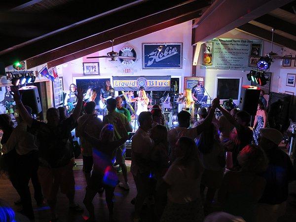 2016-08-13 Liquid Blue Band in Lake Arrowhead CA at Yacht Club 38