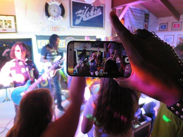 2016-08-13 Liquid Blue Band in Lake Arrowhead CA at Yacht Club 47