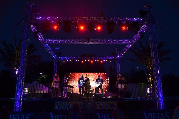 2016-08-20 Liquid Blue Band in Alpine CA at Viejas Park 33