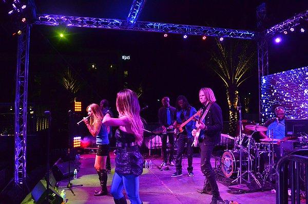 2016-08-27 Liquid Blue Band in Alpine CA at Viejas Park 46