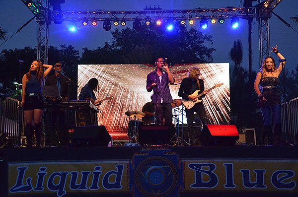2016-08-27 Liquid Blue Band in Alpine CA at Viejas Park 7