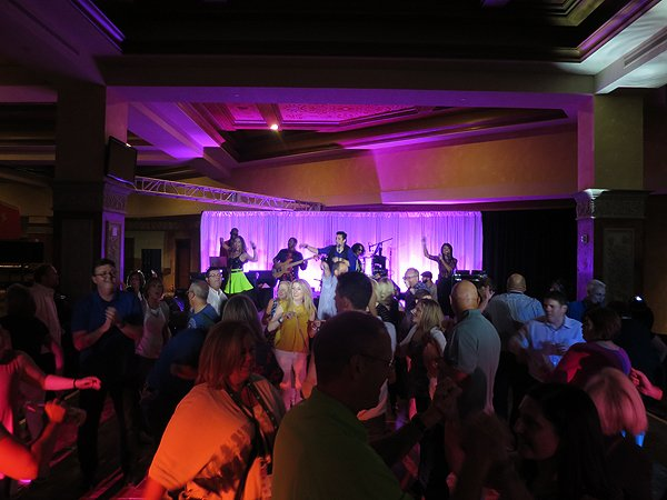 2016-09-14 Liquid Blue Band in Henderson NV at Las Vegas Hilton 10