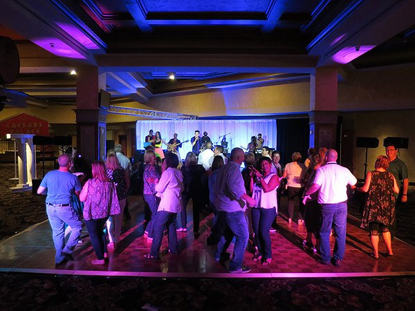 2016-09-14 Liquid Blue Band in Henderson NV at Las Vegas Hilton 5