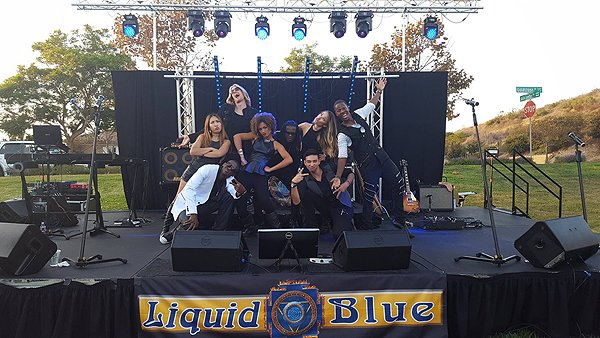 2016-09-17 Liquid Blue Band in Carlsbad CA