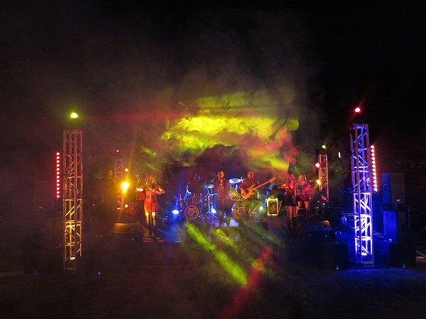 2016-11-05 Liquid Blue Band in Pasadena CA at The Langham 178