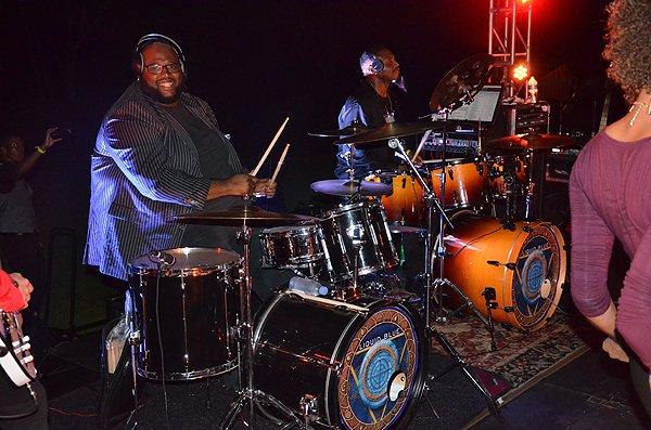 2016-11-05 Liquid Blue Band in Pasadena CA at The Langham 066