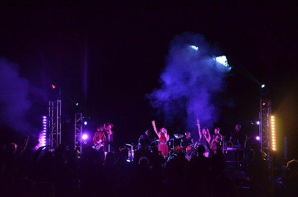 2016-11-05 Liquid Blue Band in Pasadena CA at The Langham 086