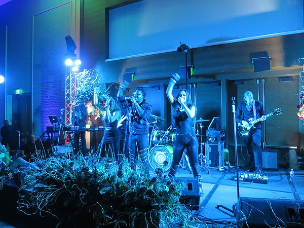 2016-12-17 Liquid Blue Band in San Diego CA at Marriott Marquis 35