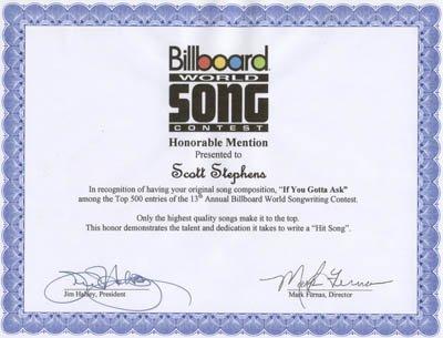 Billboard World Song If You Gotta Ask