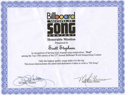 Billboard World Song Real