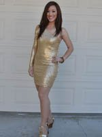 Bronze Dress Jenny 201