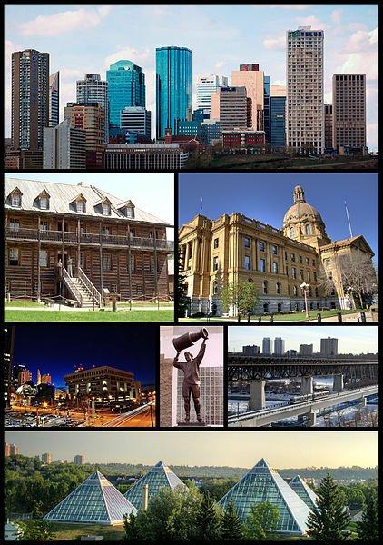 Edmonton Montage
