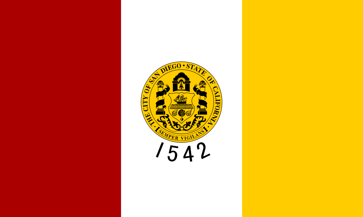 Flag of San Diego California