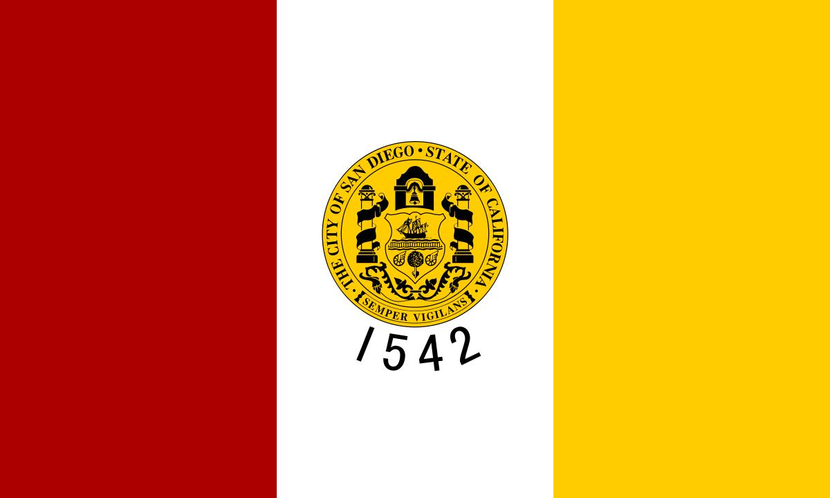 Flag of San Diego California